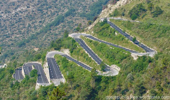 Col de Turini - road trip en Italie