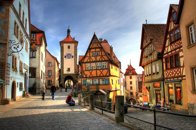 Road trip sur la route romantique - Allemagne