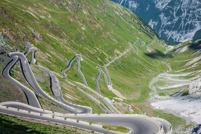 Col du Stelvio - encore un road-trip en Italie