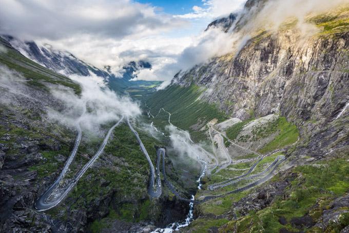 Un road-trip en Norvège : Trollstigen
