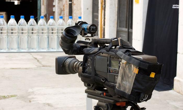 Caméra pour réaliser des documentaires