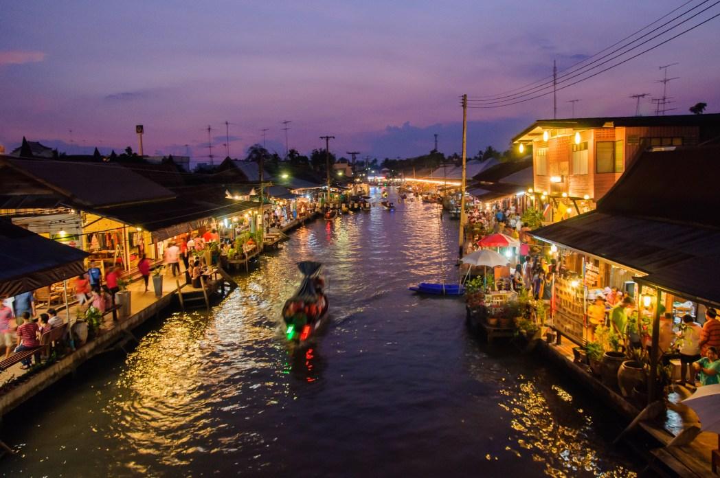 Canaux de Bangkok