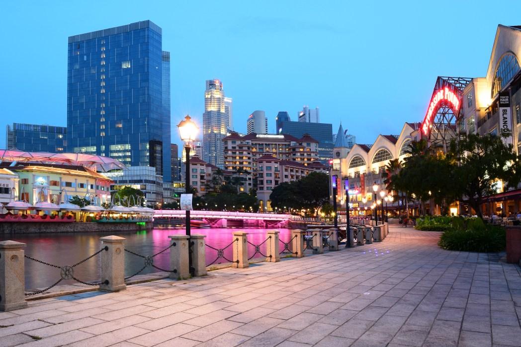 rivière de Singapour