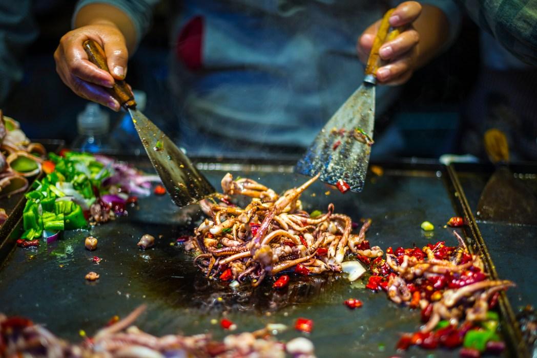 street food à Jakarta