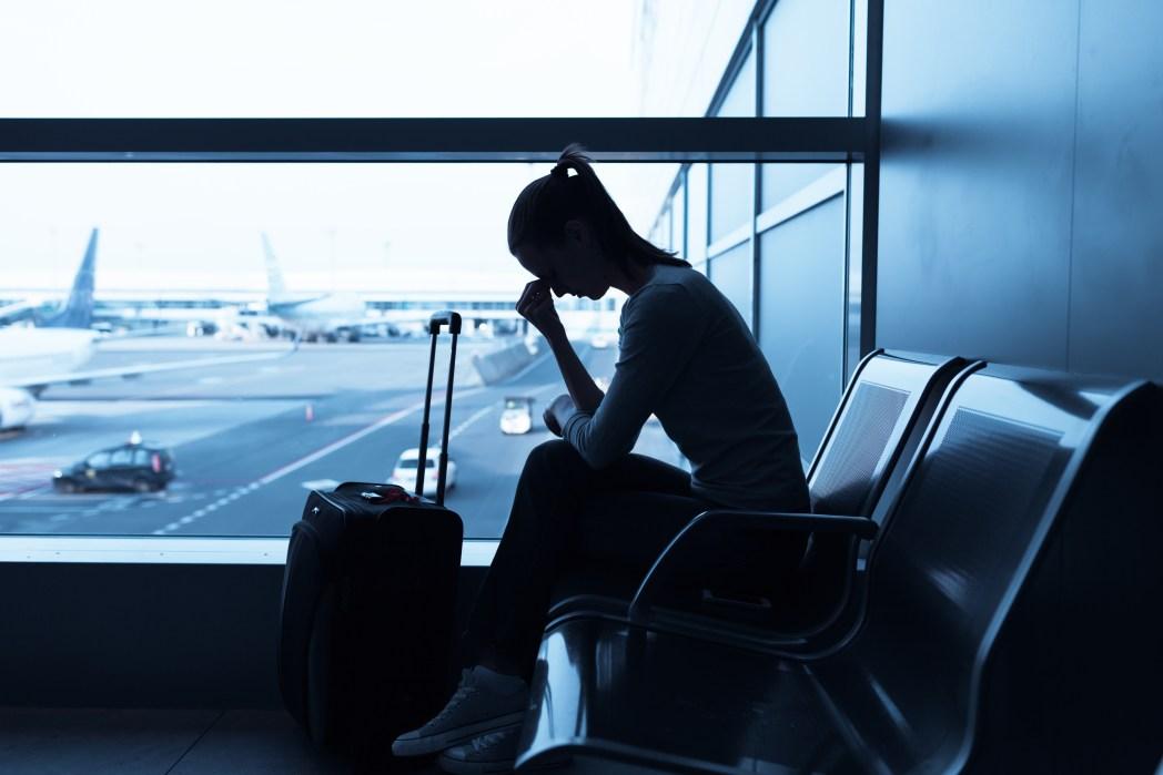 avion retardé
