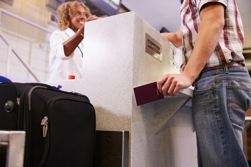Enregistrement aéroport