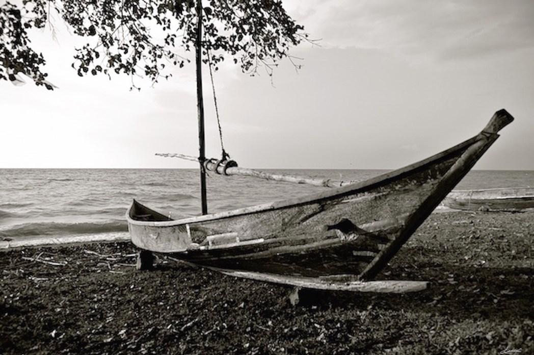 Bateau traditionnel kenyan Rusinga island