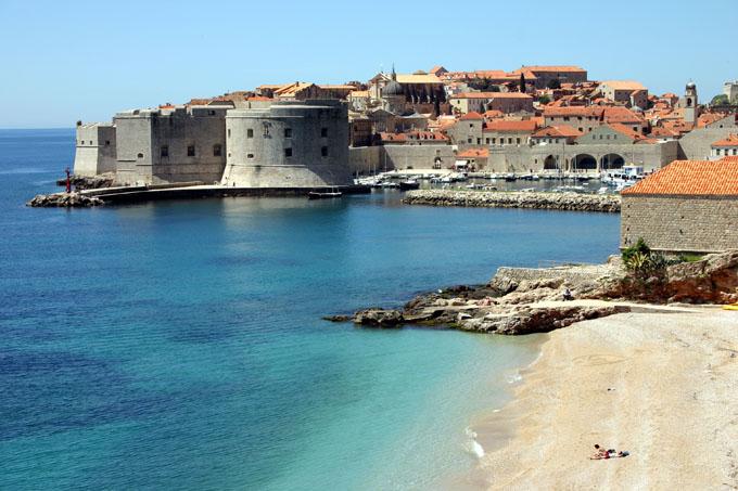 Plage de Banje, Dubrovnik