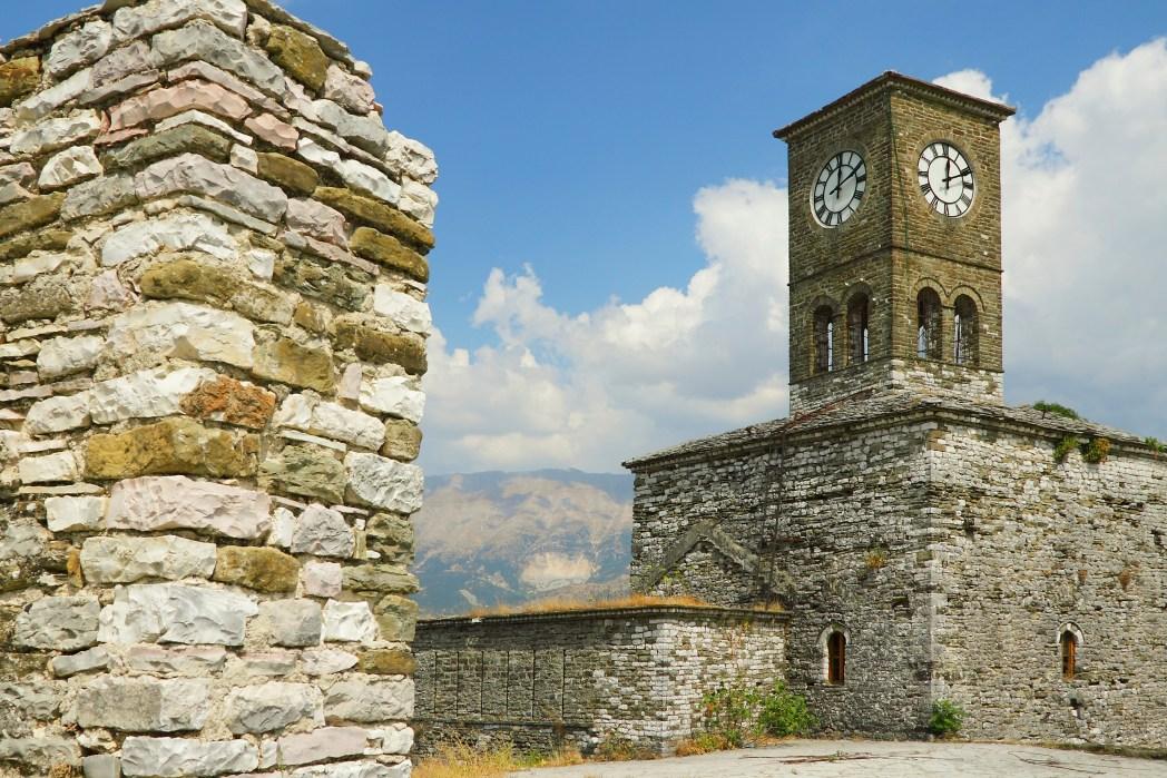 Citadelle de Gjirokaster, Albanie