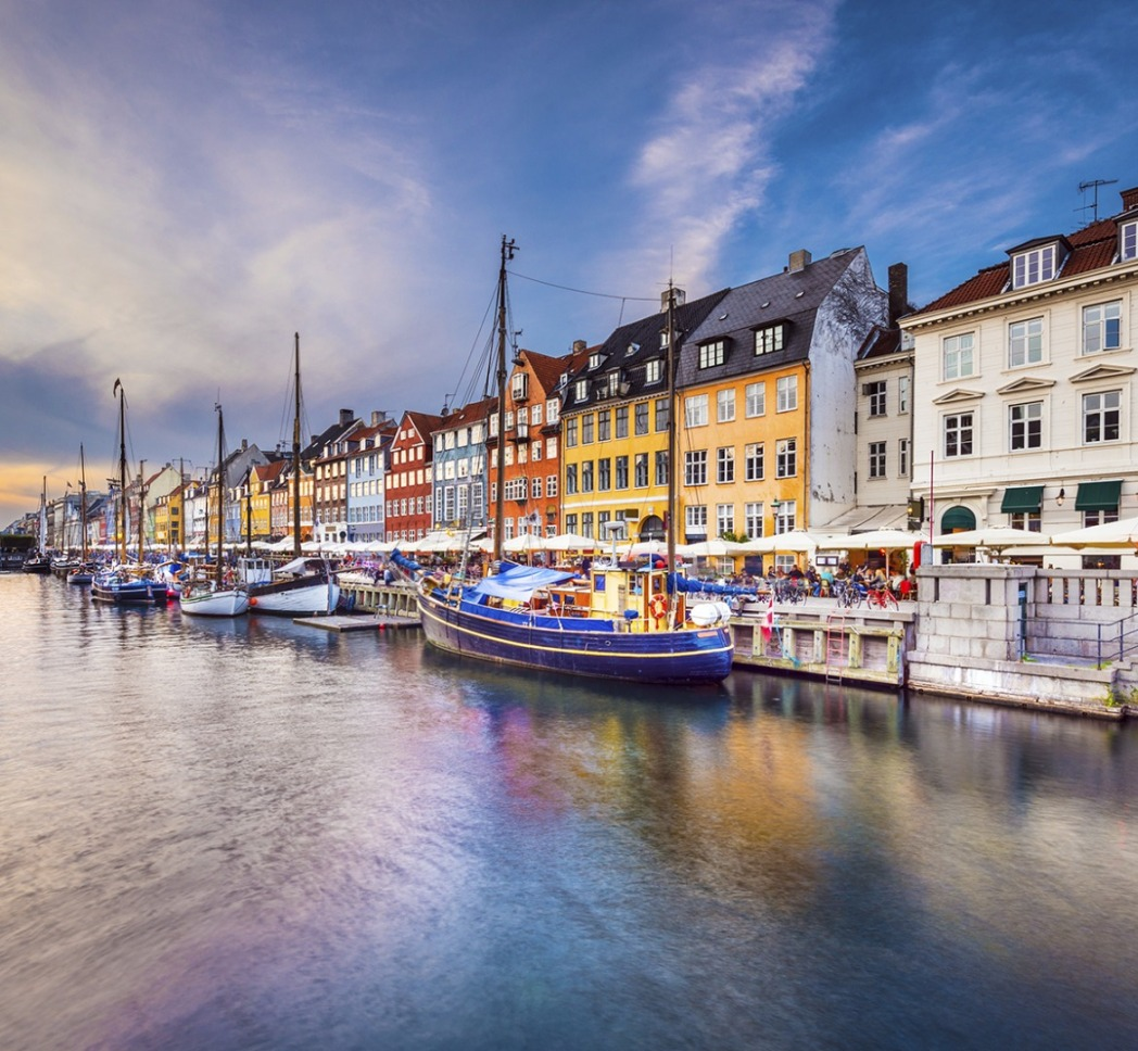 Immeuble en bord de canal à Copenhague