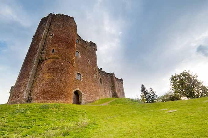 Château de Doune, Écosse