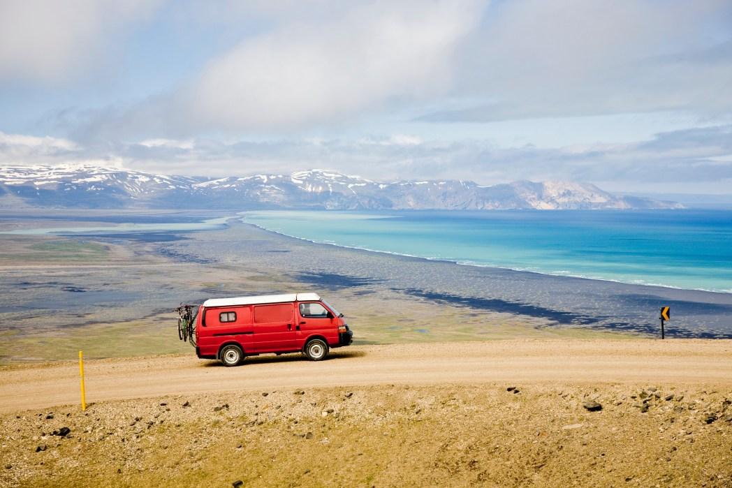 La route 1 - pour un road trip en Islande