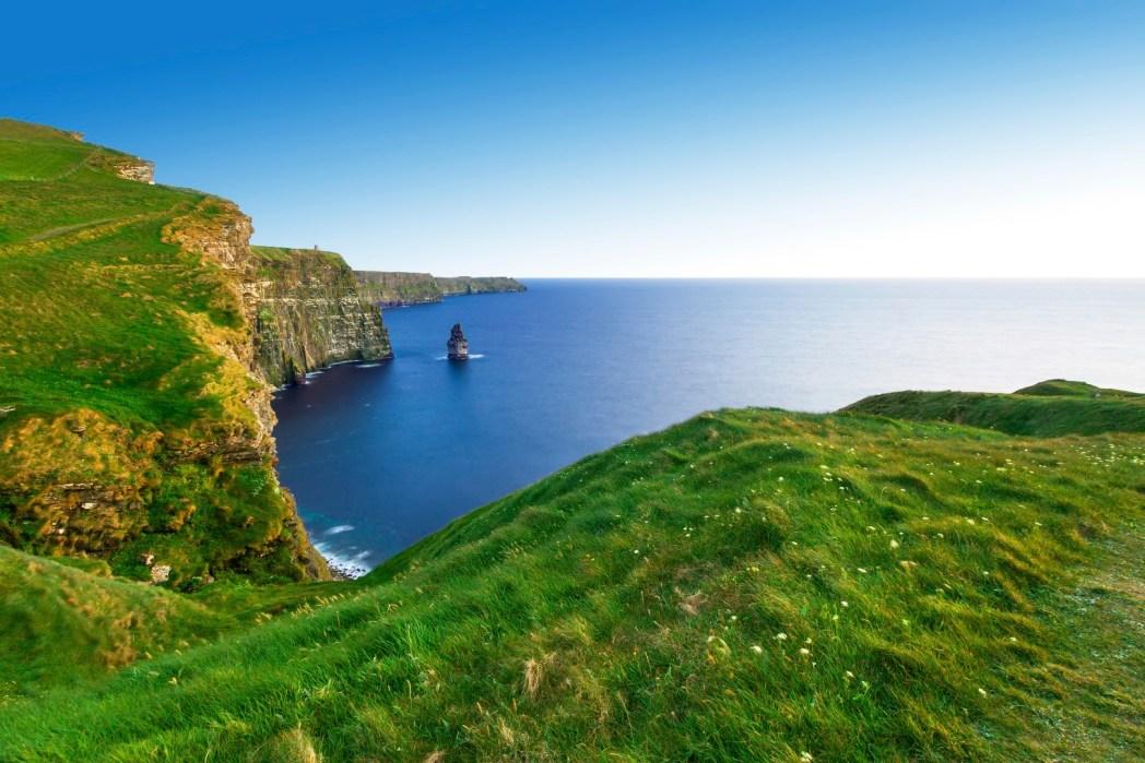 Falaise de Mohère en Irlande