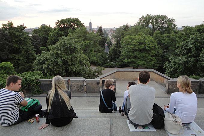 Trois endroits panoramiques