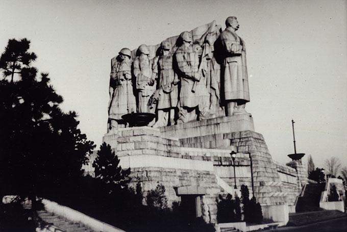 Ancienne statue de Staline, Prague