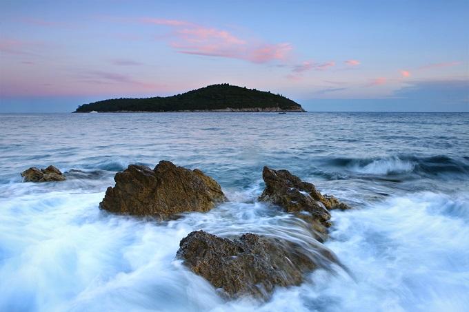 Île de Lokrum, en Croatie
