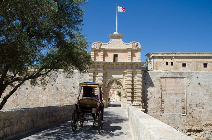 Porte de Mdina, Malte