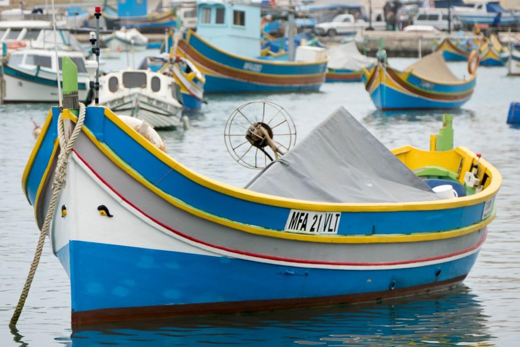 Bateau de pêche maltais