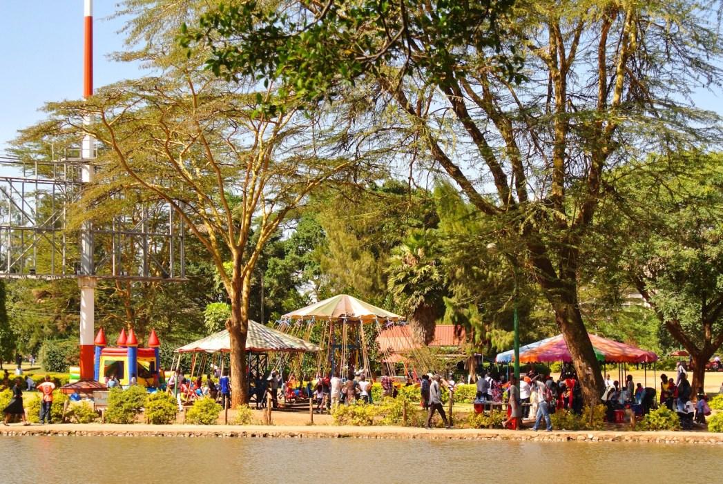 Le parc Uhuru à Nairobi