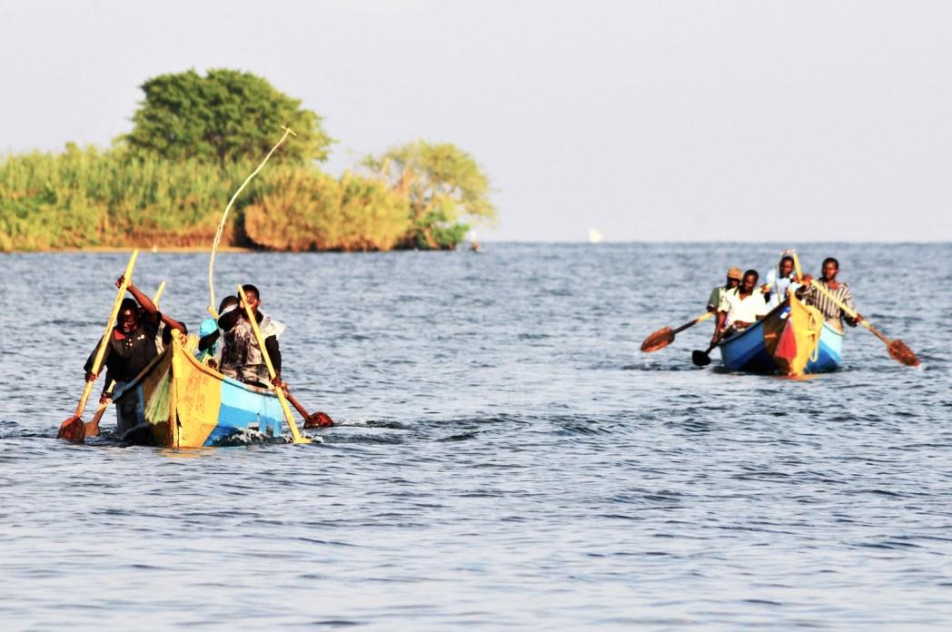 Pécheurs sur le lac Victoria