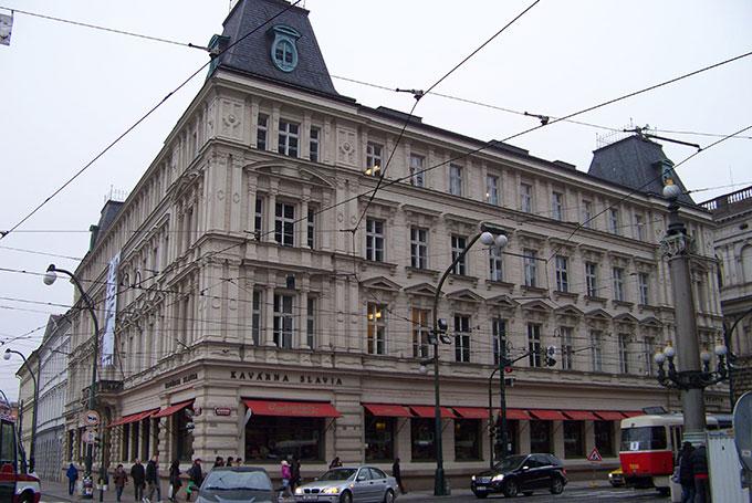 Café à Prague