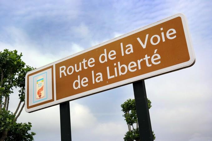 Route de la voie de la liberté, Normandie