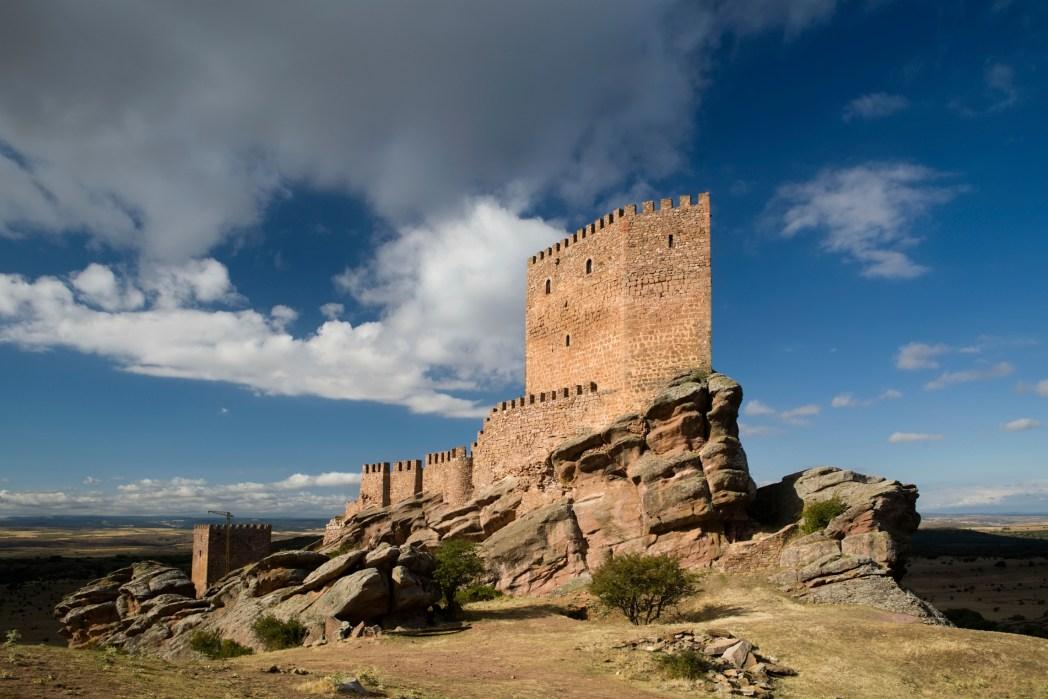 Zafra Castle, Guadalajara, Spain