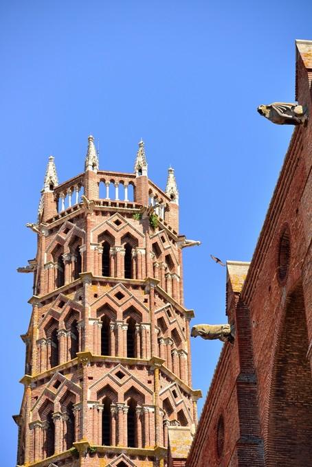 Tour des cloches, Eglise des Jacobins de Toulouse