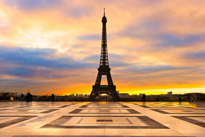 Tour Eiffel vue depuis le Trocadéro