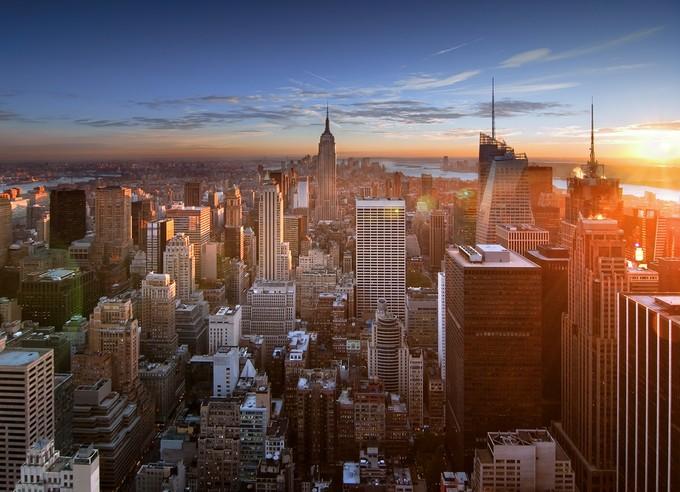 Vue de Manhattan depuis Top of the Rock